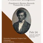 VATech Douglass Day 2018 flyer - Happy 200th birthday Fredrick Douglas!