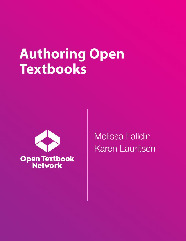 The cover of the book is displayed. It is plain with the title of the book, the names of the authors, and the Open Textbook Network logo.